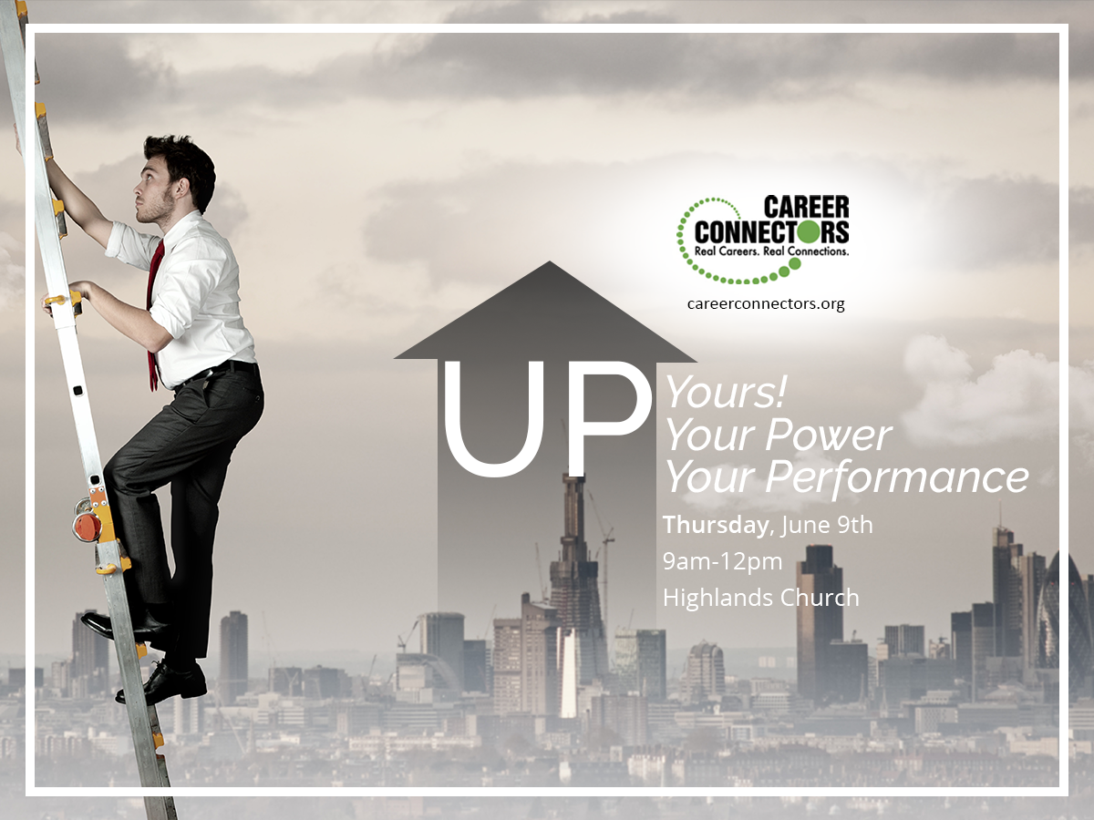 Career Connectors Up Yours event