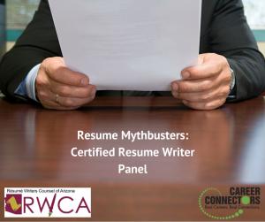 Resume Mythbusters