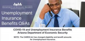 Unemployment Insurance Benefits Arizona Department of Economic Security