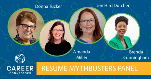 Resume Mythbusters Panel